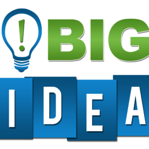 Big Idea Professional Green Blue With Symbol